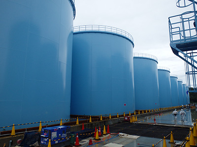福島第一原子力  汚染水タンク
