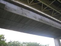 高速道路橋パネル足場