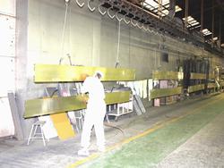 焼付乾燥炉(第一塗装工場)