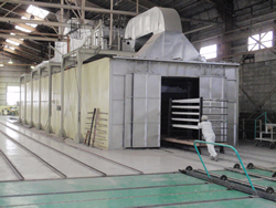 焼付乾燥炉(第二塗装工場)
