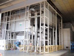 焼付乾燥炉(第三塗装工場)